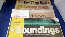 ~1993 Paper Lot 4 -Boats For Sale, Antique Trader, Soundings, Boating Newspaper