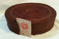 33 Meters (36 yds) Traditional Extra Strong Brown Webbing - Upholstery Supplies