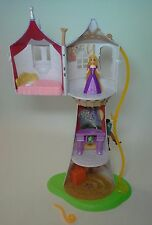 DISNEY TANGLED RAPUNZEL TOWER w/ FLYNN PASCAL - PARK EXCLUSIVE