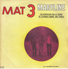 45TRS VINYL 7''/ FRENCH SP MAT 3 / MARYLINE