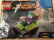 Lego Polybag The Joker Bumper Car 47 Pieces DC Comics Super Heroes