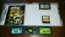 Crash mind over mutant ds 3ds ita+nitro kart+2+crash e spyro+ huge adventur gba