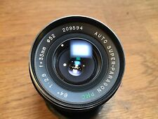 Auto Super-Paragon PMC 35mm f/2.8 Lens Yashica Mount