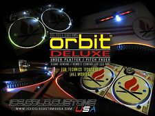 ICE COLD CUSTOMS USA / ORBIT DELUXE LED KIT UNDER PLATTER TECHNICS 1200