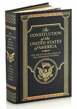 THE CONSTITUTION OF THE USA & SELECTED WRITINGS OF FOUNDING FATHERS ~ LEATHER