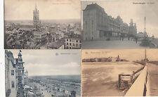 Lot 4 cartes postales anciennes BELGIQUE BLANKENBERGHE 2