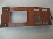 Mercedes W124 Zebrano Wood Shifter Panel 300E E320 E420