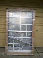 NEW: PELLA Premium Wood DOUBLE-HUNG WINDOW w/ Aluminum Cladding & Grids 44x65