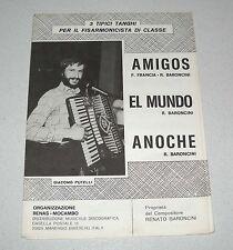 Spartiti 3 tanghi RENATO BARONCINI Giacomo Putelli Liscio orchestra Fisarmonica
