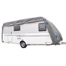 Wohnwagen Caravan Schutzhülle Wetterschutz Abdeckplane Größe XXL 7,3x2,5x2,2m