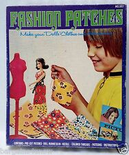 Vintage 1960's HG Toys FASHION PATCHES DOLL CLOTHES MAKING ~ Harett-Gilmar Inc.