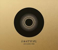 TAEYANG - 2nd NEW ALBUM RISE DELUXE VER Limited Edition Sealed BIGBANG