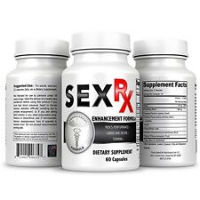 Sex RX Male Enhancement Supplement Ultra Powerful Men's Sexual Enhancing Pills