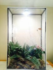 """Butterfly Cage Butterfly, Insect, Small Animal Rearing Cage,16.5x16.5x30"""" (LH38)"""