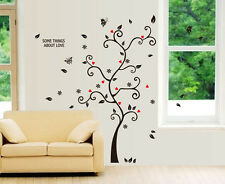 Art Wall DIY Decal Decor Bedroom Stickers Vinyl Removable Paper Mural Love Tree