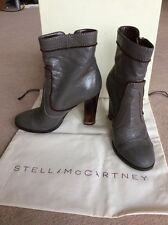 Stella mccartney court bottes taille 36.5 ppr £ 475 porté seulement quelques heures avec sac boîte