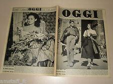 OGGI=1950/41=JEAN SOREL ALIDA VALLI=LENI RIEFENSTAHL=EGIDIO BOSCHI=DANTE SPADA=