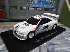 Peugeot 405 t16 Group S (gr. B sucesión) presentation test rally Spark 1:43