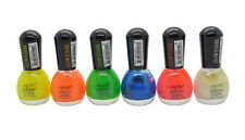 "Santee Nail Polish ""Glow in the Dark"" Yellow,Orange,Green,Aqua,Red,White 6 Sets"