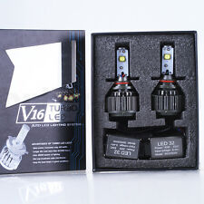 V16 Turbo CREE LED Headlight Kit 60W 7200LM/Set 9006 HB4 White