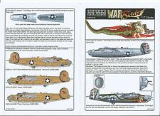 Kits World B-24J Liberator Decals 1/72  128, The Dragon and his Tail
