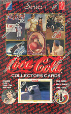 COCA COLA SERIES 1 1993 COLLECT-A-CARD FACTORY SEALED TRADING CARD BOX 36 PACKS