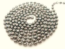 1 Metre Silver Tone Ball Chain 3mm Jewellery Craft Necklace Beading Finding T117