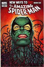 AMAZING SPIDERMAN 573 VFNM VARIANT NEW WAYS TO DIE ROMITA SLOTT RARE SUPERIOR