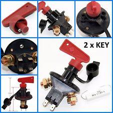 Desconectador Batería Kit De Interruptor Aprobado Por La FIA - 2 x Key