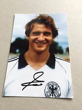 WOLFGANG DREMMLER DFB signed Photo 10x15