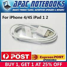 iPod Touch iPad 2 3 USB Data Charger Cable Sync Cord iPhone 4S 4 3GS