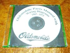1965 1966 1967 1968 1969 1970 1971 1972 1973 1974 Oldsmobile Parts Catalog on CD