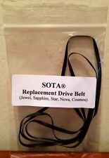 SOTA genuine Turntable large Drive-Belt for Jewel, Sapphire, Star, Nova, Cosmos