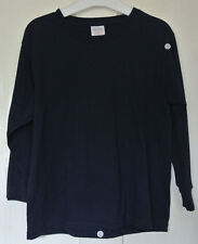 New Fruit of the loom 100% cotton long sleeveT-shirt Navy age 7-8 years