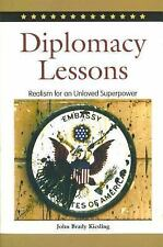 Diplomacy Lessons: Realism for an Unloved Superpower, Middle East, Diplomacy, Po