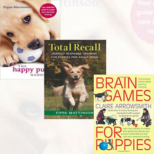Puppy Care and Early Training Collection 3 Books Set(The Happy Puppy Handbook)