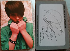 Super Junior Sungmin Bonamana Photocard version B