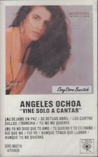 Angeles Ochoa Vine Solo A Cantar Cassette New Sealed