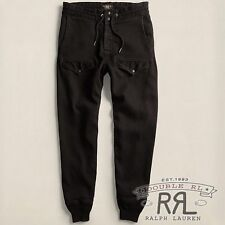$340 RRL Ralph Lauren 1920s Vintage Inspired Japanese Cotton Flight Pant- MEN-M
