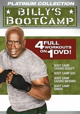BILLY BLANKS TAE BO BILLY'S BOOTCAMP PLATINUM COLLECTION TAEBO WORKOUT DVD NEW