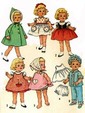 Vintage Doll Clothes PATTERN 4652 for 20 in Chatty Cathy by Mattel 1960s