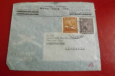 *Brief Beleg - Chile nach Deutschland - Salzgitter 50-er Jahre (41)