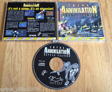 TOTAL ANNIHILATION BATTLE TACTICS EXPANSION PACK JEWEL CASED VERSION for PC RARE