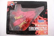 Bandai Macross 7 VF-19 CUSTOM FIRE VALKYRIE 1/65 Scale Complete w/ Box