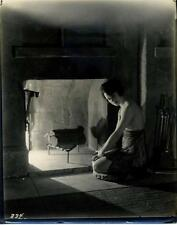 Gladys Ballard. In Front Of A fire Place. Actress. Photo By James Abbe (attrib.)