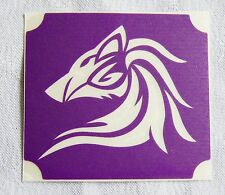 GT139 Body Art Temporary Glitter Tattoo Stencil Tribal Wolf