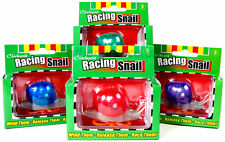 2 x Clockwork Motion Wind Up Race Racing  Snail Novelty Toy Game 08511