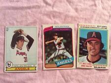 (3X) Vintage Nolan Ryan Baseball Cards Lot 53