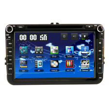 "8"" 2Din DVD Stereo Car GPS Navigation Player Bluetooth Radio For VW Jetta Skoda"