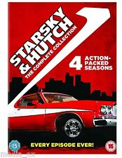 Starsky and Hutch: Complete Series (Season) 1 2 3 & 4 Box Set Collection | DVD